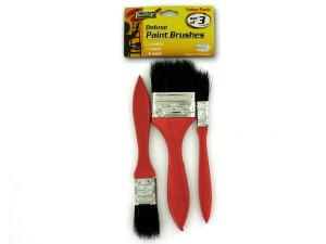 Wholesale: Wood handle paint brush set