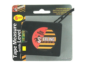 Wholesale: Tape Measure with Level