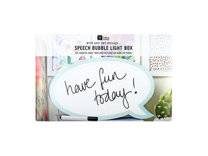 Wholesale: Speech Bubble Light With Pen