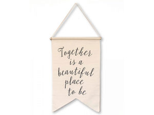 Wholesale: Together Is a Beautiful Place to be Banner