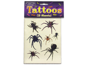 Wholesale: Spider And Spider Web Tattoos