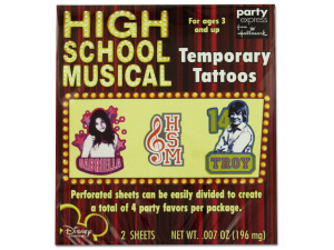 Wholesale: High School Musical Tattoos