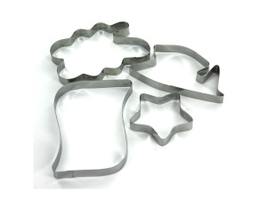 Wholesale: Metal Graduation-Themed Cookie Cutters