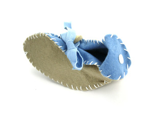 Wholesale: Baby Boy Booties Craft Kit