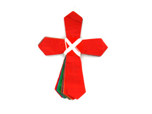 Wholesale: Multicolored Cross-Shaped Garland
