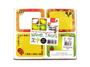 Wholesale: Fun Fiesta Name Tags