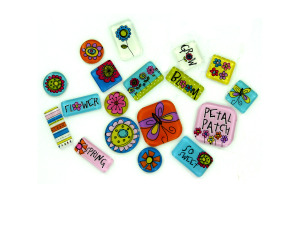 Wholesale: 18 Color Me Spring Expressions Tiles