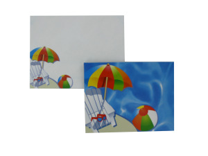 Wholesale: Pool Party Notecards with Envelopes