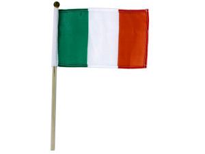 Wholesale: Irish Flag on Wooden Pole