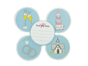 Wholesale: Wedding Save-The-Date Coasters