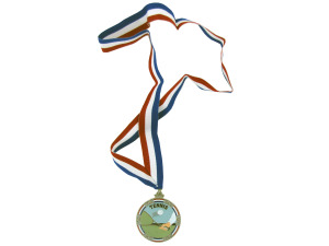 "Wholesale: Personalized Enamel ""Tennis"" Medal"