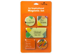 Wholesale: Day Spring Inspirational Magnetic Set of 5