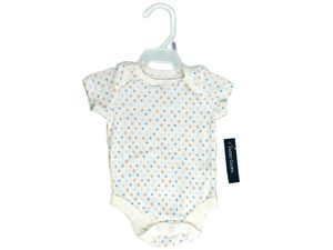 Faded Glory Newborn Onesie- Blue Stars