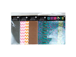 Wholesale: 6PC 12x12 Paper Pack- Assorted Prints