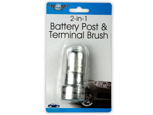Wholesale: 2-in-1 Battery Post & Terminal Brush