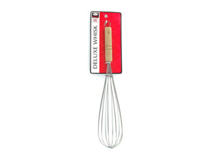 Wholesale: Whisk with wood handle