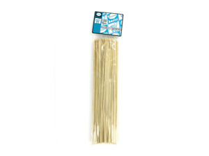 Wholesale: Bamboo skewers for barbecue or food, pack of 100