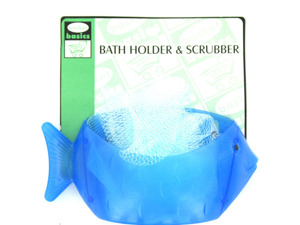 Wholesale: Fish-shaped holder with scrubber included