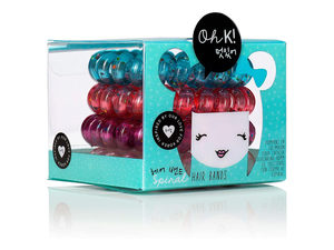 Wholesale: Oh K! Spiral Hair Bands