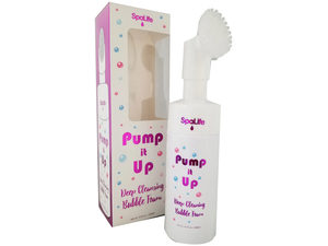 Wholesale: Pump it Up Foaming Facial Cleanser with Silicone Scrubber