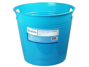Wholesale: Plastic Basket 9.6 x 8.3 In Assorted Colors