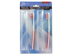 Wholesale: Travel toothbrushes with holders