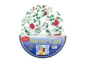 Wholesale: 3 Pack shower caps