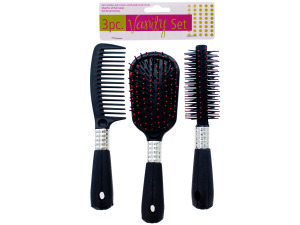 Hair styling vanity set