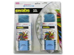 Wholesale: Twin pack cotton swabs