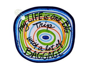 Wholesale: Life luggage tag