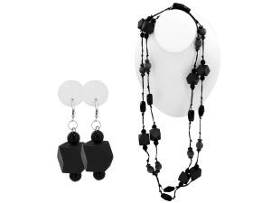 Beaded necklace/earrings
