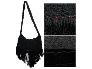 Black Handmade Bag