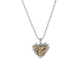 Michele Caruso Silver & Gold Treasure Necklace