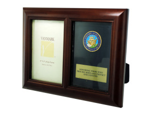 Navy honor photo frame