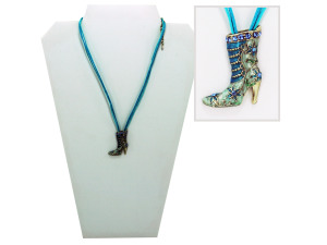 Boot necklace