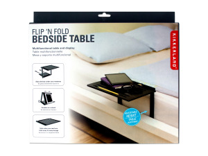 Flip 'N Fold Multi-Functional Bedside Table & Display