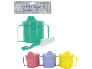 Wholesale: Toddler cup with brush