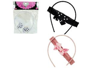 Wholesale: Headband set 3asst pf1319