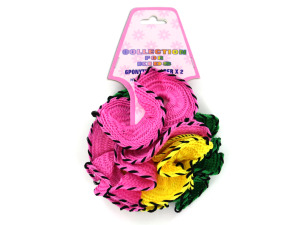 Wholesale: 6pk colored hair bands