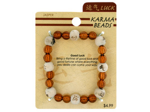 Wholesale: Karma beads bracelet