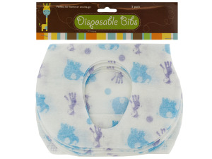Disposable Absorbent Baby Bibs Set