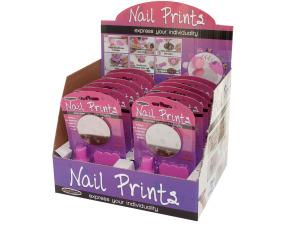 Wholesale: Nail Prints Kit Counter Top Display