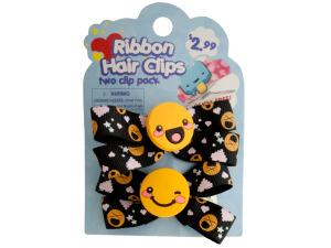 Wholesale: Ribbon Hair Clips