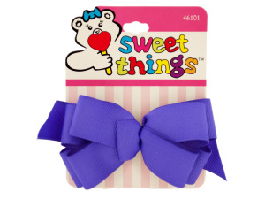 Wholesale: Colorful Ribbon Bow Barrettes