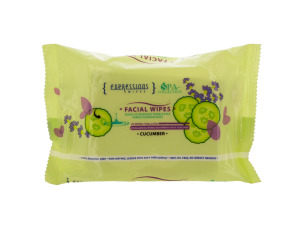 Wholesale: Cucumber Make-up Remover Cleansing Facial Towelettes