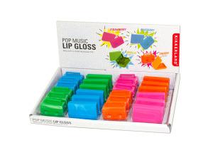 Wholesale: Pop Music Lip Gloss Countertop Display