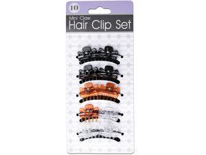 Wholesale: Mini Claw Hair Clip Set