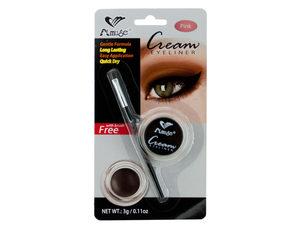 Pink Cream Eyeliner with Brush