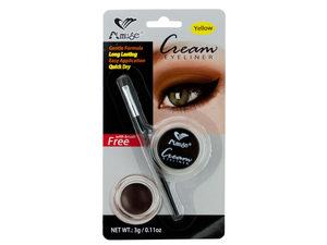Yellow Cream Eyeliner with Brush
