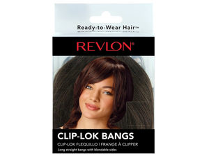 Wholesale: Revlon Medium Brown Clip-Lok Bangs
